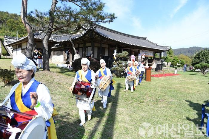 천방지축 발효축제 사물놀이 축하 공연 모습.jpg