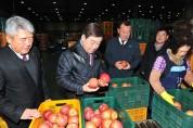 예산황토사과·배, 2020년 첫 수출길 올라